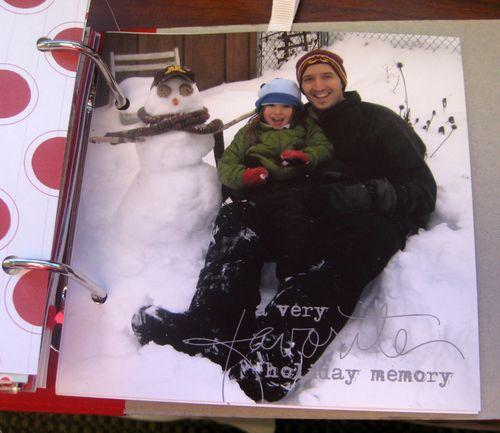 Dec 25 - Snowman