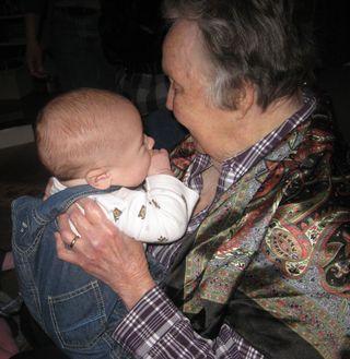Grammy and Little Man