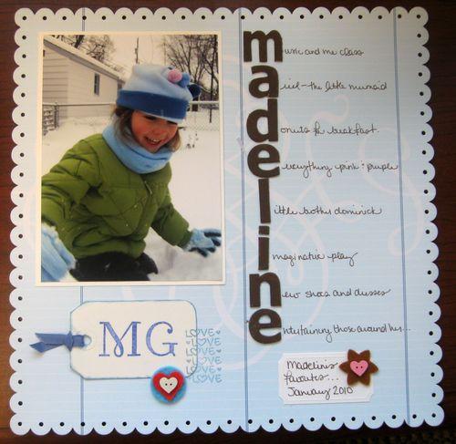 Madelines Favorites Jan 2010